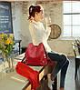 Женская сумка рюкзак клапан 2017!