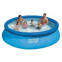 Надувной бассейн Intex 28130 (56420). Семейный Easy Set 366 х 76 см