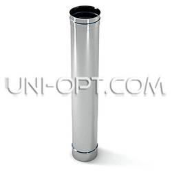 Труба 1м из нержавейки ø100-ø500  (AISI-304)