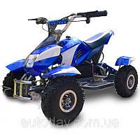 Квадроцикл детский PROFI HB-6. Мощность мотора 800W, 35 км/ч СИНИЙ, фото 1