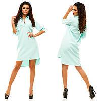 Платье с удлиненной спинкой . Платья. Купить платье. Магазин одежда. Платье фото.Одежда  каталог.