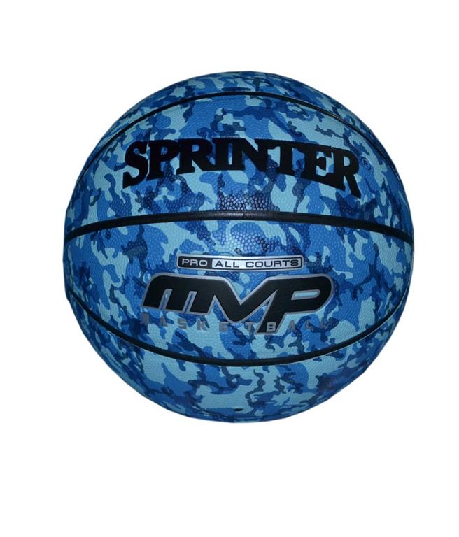 """Баскетбольный мяч SPRINTER"""" №7.синий камуфляж"""