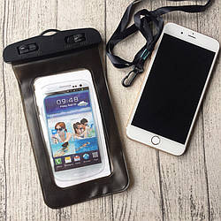 Водонепроницаемый чёрный чехол для iPhone 6 Plus/6s Plus