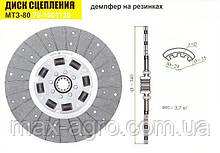 Диск сцепления МТЗ-80 (резиновый демпфер) новый