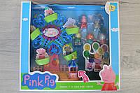 Игровой набор Свинка Пеппа карусель на батарейке музыкальная в коробке