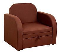 Раскладное кресло-кровать с ящиком для белья Релакс Коричневый