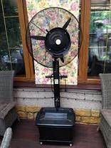 Вентилятор с увлажнением ENSA. Переносная система охлаждения воздуха для открытых мест отдыха, фото 3