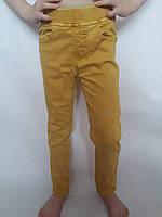 Коттоновые брюки на резинке для девочки р.8,10,14,16 Emma Girl