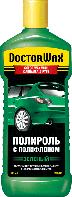 Doctor Wax Цветная полироль с полифлоном (зеленая), 300мл