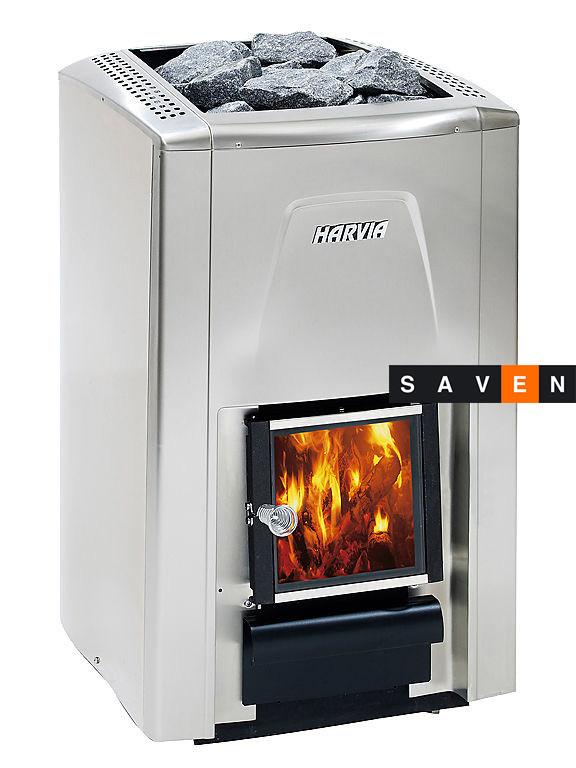 Дровяная печь для сауны (каменка) Harvia Premium
