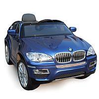 Детский электромобиль BMW X6 (синий)