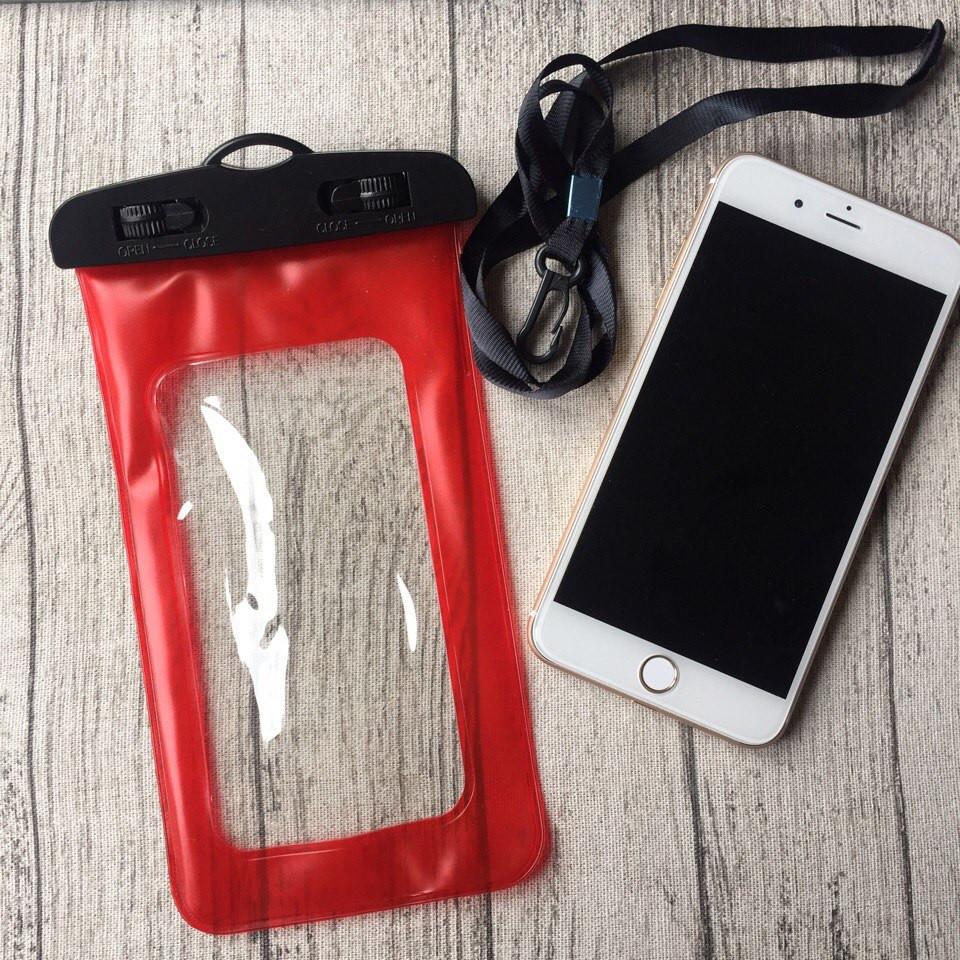 Водонепроницаемый красный чехол для iPhone 7 Plus