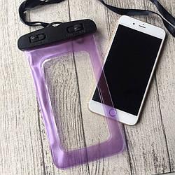 Водонепроницаемый фиолетовый чехол для iPhone 7 Plus