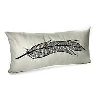 Подушка «Перо», 50х24, бархат