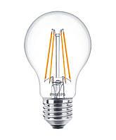 Лампа светодиодная декоративная philips led fila nd e27 6-70w 2700k 230v a60 cl