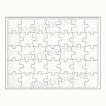 Пазл для сублимационной печати ( 40 эл.), фото 2