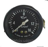 Указатель давления масла 16 МПа (МД 225) МТТ-16