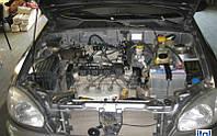 Установка гбо STAG форсунки Valtek на автомобиль Lanos 1.5