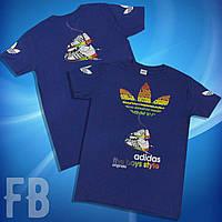 Мужская футболка adidas разных цветов S