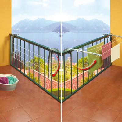 Сушилка для белья балконная Ring, Gimi (Италия) GM05624, фото 2