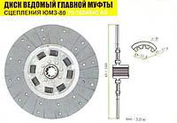 Диск ведомый гл. муфты сцепления ЮМЗ-80 новый