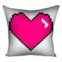 Подушка «Сердце паттерн», 30х30