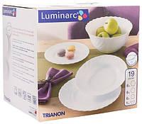 Сервиз столовый 19 предметов Luminarc Trianon 00144