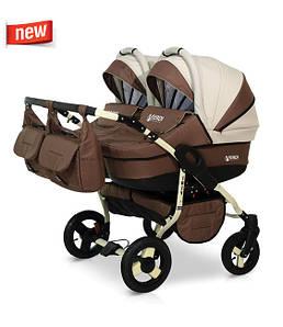 Детская коляска для двойни Verdi Twin