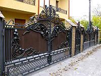 Ворота кованые Марсель