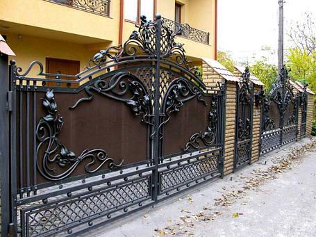 Ворота кованые Марсель, фото 2