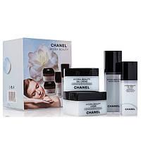 """Набор кремов для лица Chanel """"Hydra Beauty"""" 4 в 1"""