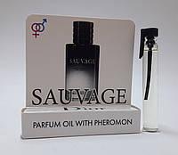Масляные духи с феромонами Christian Dior Sauvage 5 ml