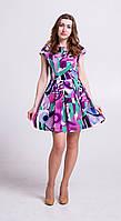 Платье летнее с воротничком П159