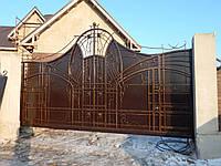 Ворота кованые Вікторія