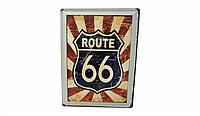 Винтажная табличка Route 66