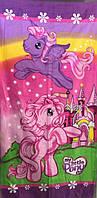 Полотенце детское пляжное Little Pony, 75х150 см