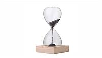 Креативные магнитно-песочные часы