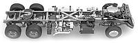 Ремонт кабины и рамы, замена рамы грузовика