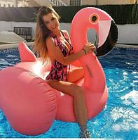 Надувний матрац Modarina Фламінго 150 см Рожевий (PF3365 )