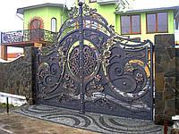 Ворота кованые Млинов 2