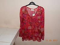 Шифоновая блузка в цветы Christina, фото 1