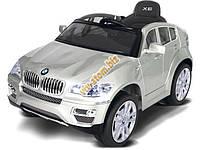 Детский электромобиль BMW X6 (серый)
