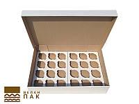 Коробка для капкейков, кексов и маффинов 24 шт  470*325*90