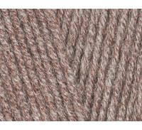 Пряжа Cotton Baby Soft светло-коричневый меланж №240 полухлопок для ручного вязания