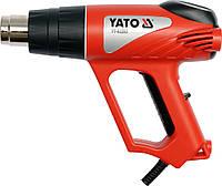 Фен технический сетевой 2000 Вт, 0 ~ 550°C, 2 режима: 350°С/500°С, YATO YT-82288.