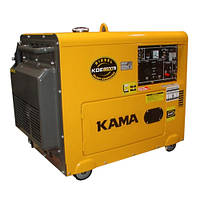 Дизельный генератор KAMA KDE6500TN