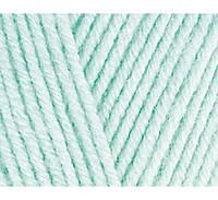 Пряжа Cotton Baby Soft зимнее небо №514 полухлопок для ручного вязания