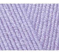 Пряжа Cotton Baby Soft лиловый №547 полухлопок для ручного вязания