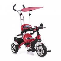 Трехколесный велосипед М 5341 Eva Foam Тачки. Ярко-красный.