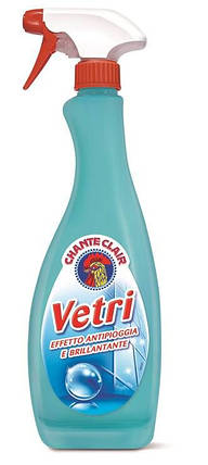 Чистящее средство для зеркал и окон Vetri 625 мл, Chante Clair 512057, фото 2